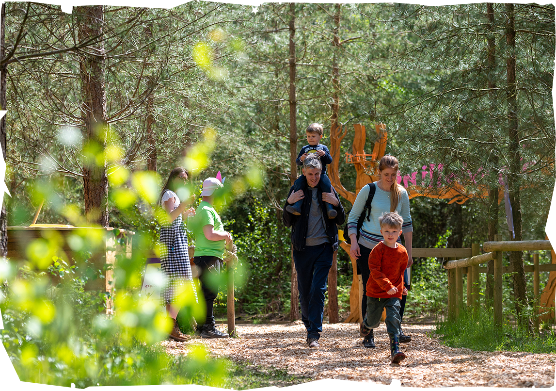 Psst, you could win 4 tickets to run WILD at BeWILDerwood Cheshire!