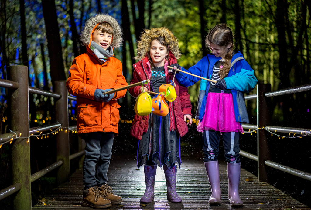 The Glorious Glowing Lantern Parade at BeWILDerwood Cheshire