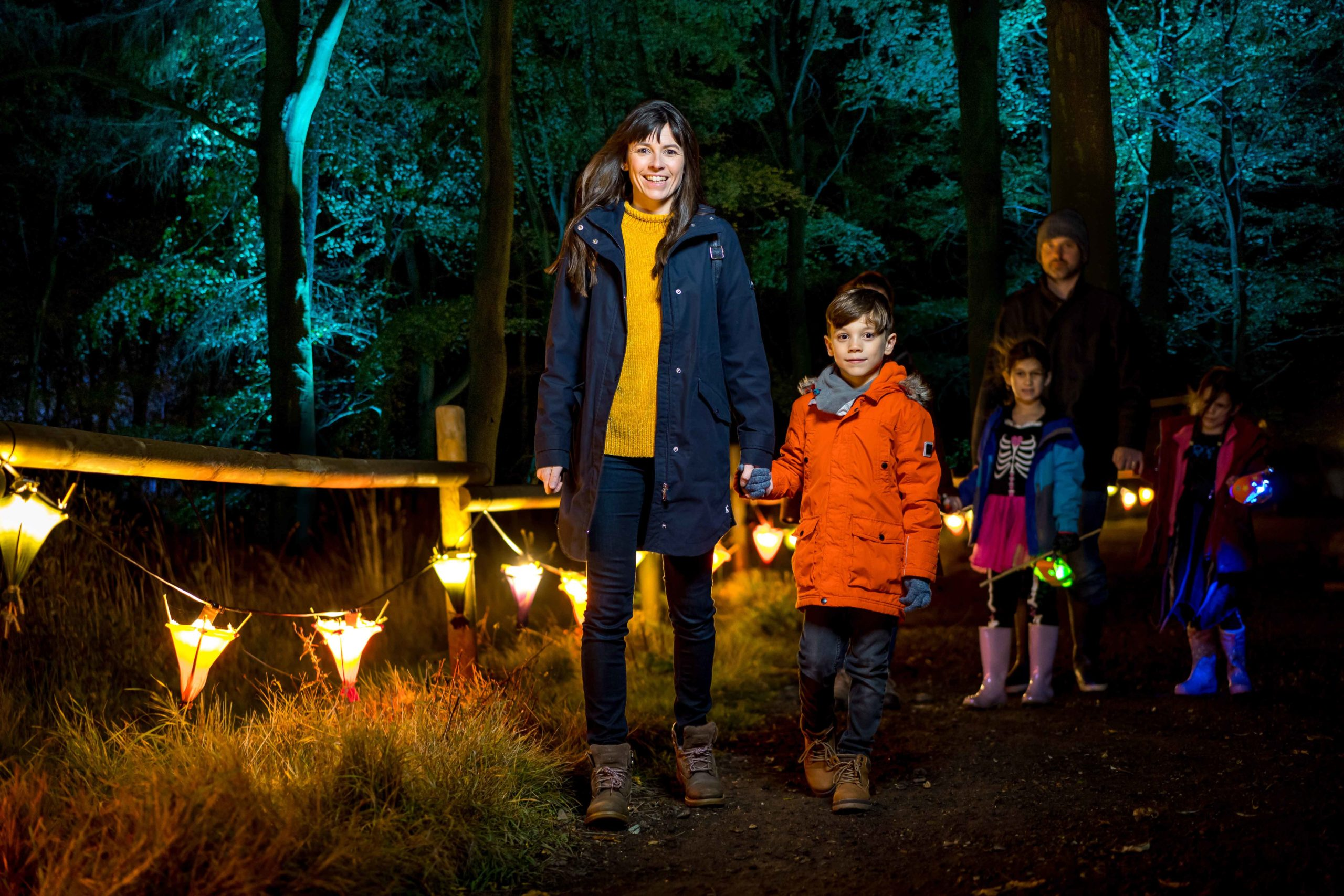 The Glorious Glowing Lantern Parade is coming to BeWILDerwood Cheshire!